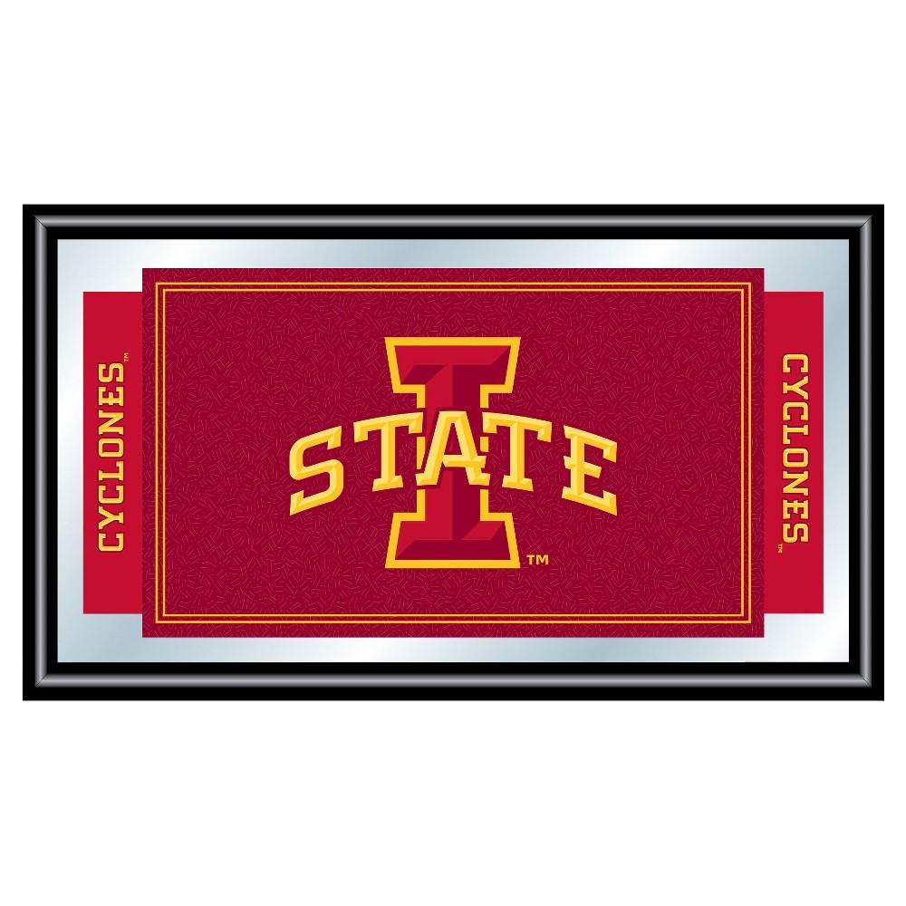 Iowa State Cyclones Team Logo Wall Mirror, Multicolored