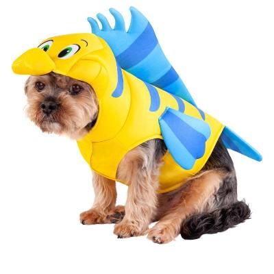 Rubies The Little Mermaid: Flounder Pet Costume