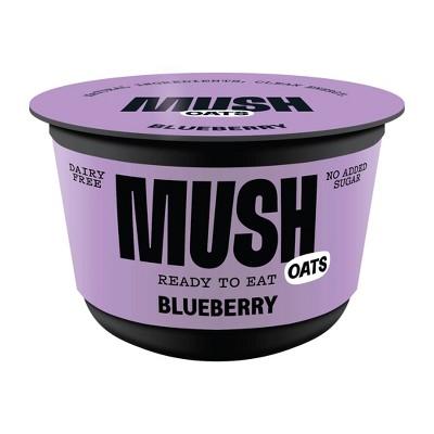 MUSH Gluten Free and Vegan Blueberry Ready-to-Eat Oats - 5oz