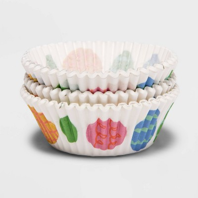 75ct Paper Eggs Baking Cups - Spritz™