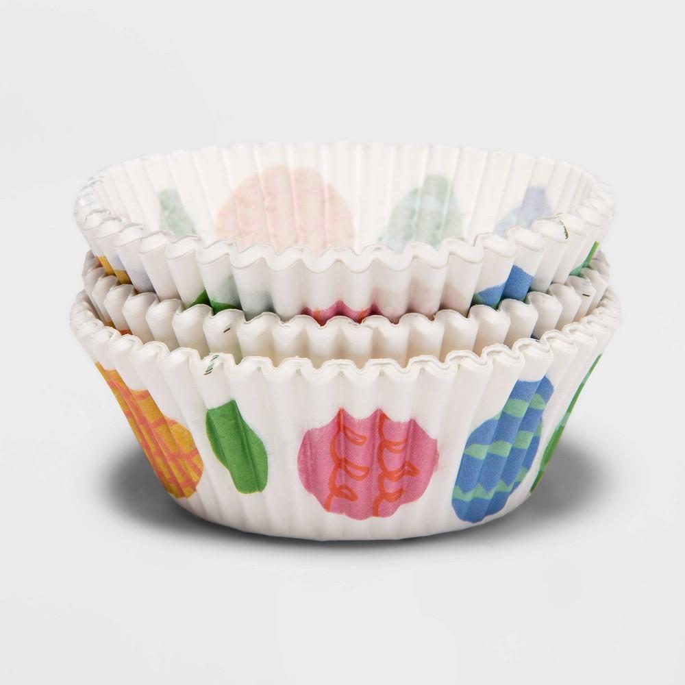 75ct Paper Eggs Baking Cups Spritz 8482