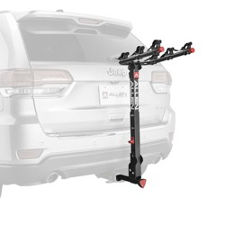 Allen Sports Locking Quick Release 3-Bike Carrier for 1 1/4 in. and 2 in. Hitch