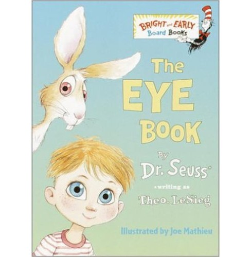The Eye Book By Theo. LeSieg - image 1 of 1