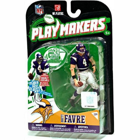 McFarlane Toys NFL Minnesota Vikings Playmakers Series 1 Brett Favre Action Figure - image 1 of 1