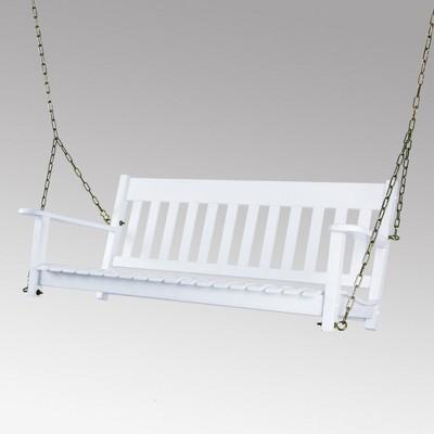Alston Porch Swing - White - Cambridge Casual