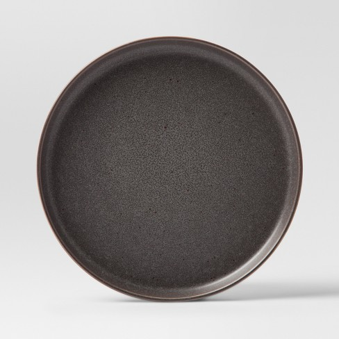 "8.5"" Tilley Stoneware Salad Plate Black - Project 62™ - image 1 of 1"