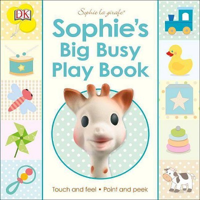 Sophie La Girafe: Sophie's Big Busy Play Book - (Board_book)