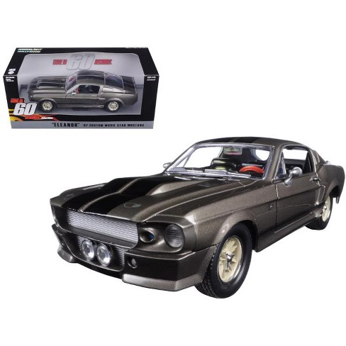 """1967 Ford Mustang Custom """"Eleanor"""" """"Gone in 60 Seconds"""" (2000) Movie 1/24 Diecast Model Car by Greenlight - image 1 of 1"""