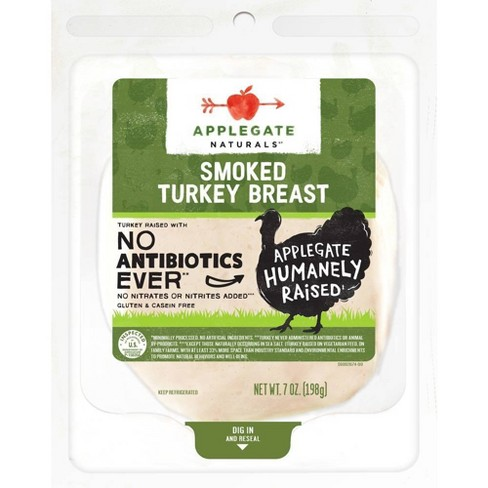 Applegate Natural Smoked Turkey Breast - 7oz - image 1 of 3