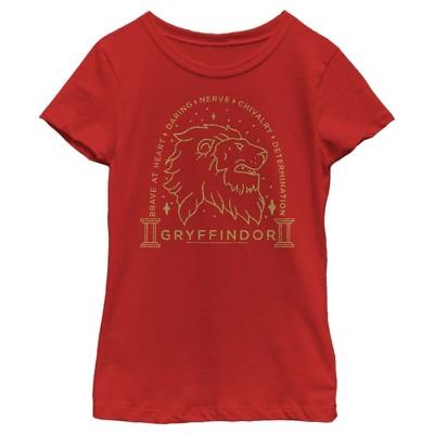 Girl's Harry Potter Gryffindor House Emblem T-Shirt