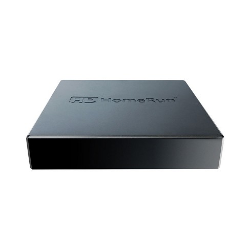 SiliconDust HDHomeRun Connect Quatro TV Streaming Player - Black (4988977)