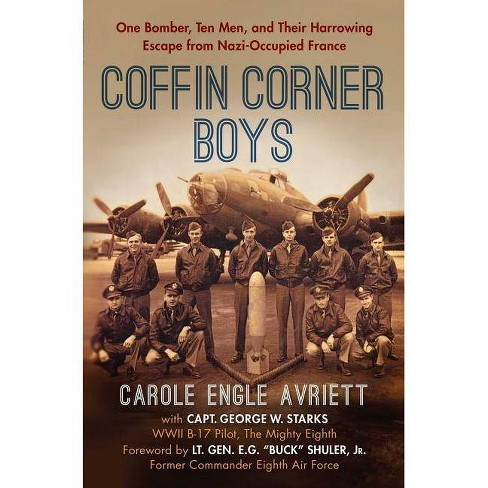 Coffin Corner Boys - by  Carole Engle Avriett (Hardcover) - image 1 of 1