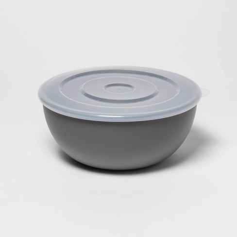 77.8oz Plastic Serving Bowl with Lid - Room Essentials™ - image 1 of 1