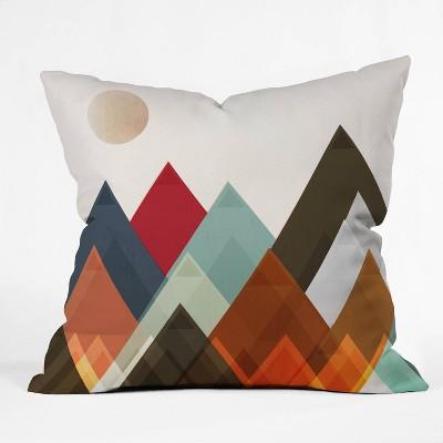 Brian Buckley Pepper Moon Throw Pillow - Deny Designs