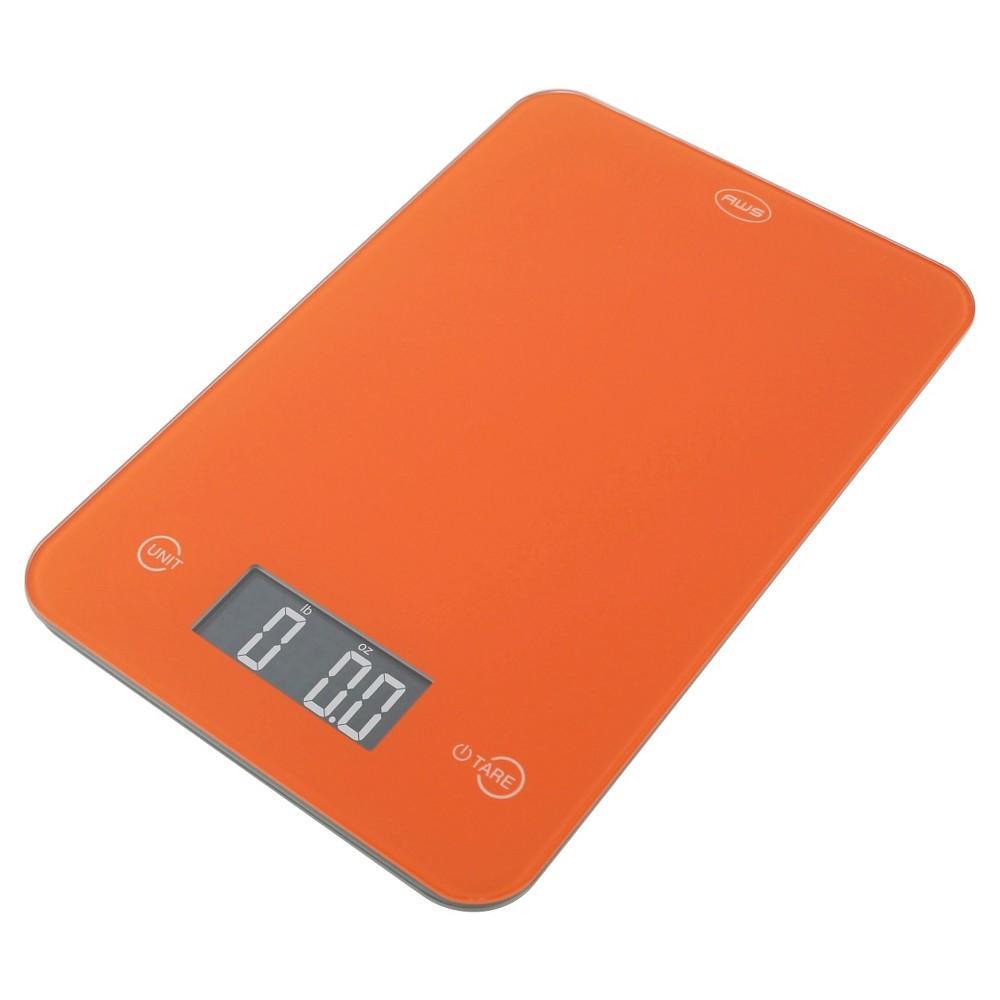 Aws Digital Kitchen Scale - Orange