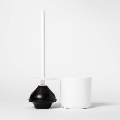 Plunger with Splash Guard White - Project 62™