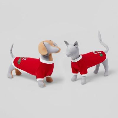 Feliz Navidad Dog and Cat Sweatshirt - Red - Wondershop™