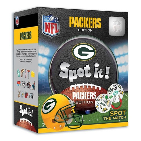 NFL Green Bay Packers Spot It Game - image 1 of 3