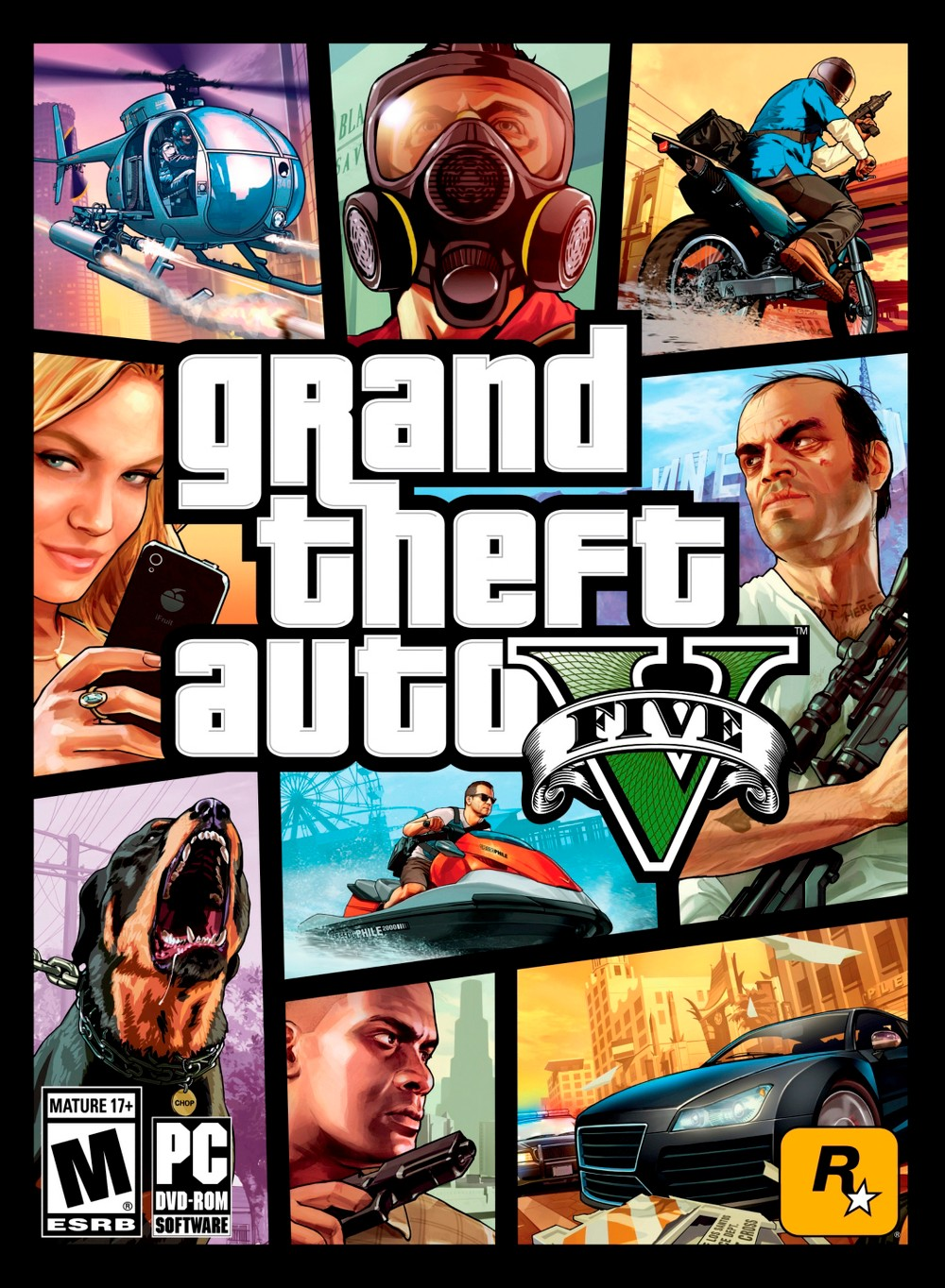 Rockstar Grand Theft Auto V PC Games