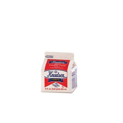 Knudsen Heavy Whipping Cream - 8 fl oz