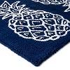"20""x34"" Fruit Print Kitchen Rug Blue - Threshold™ - image 2 of 2"