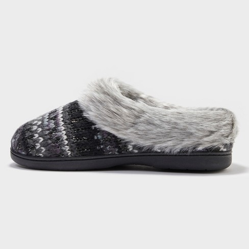 23407634069a Women s Dearfoams Slide Slippers   Target