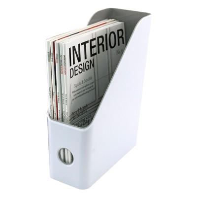 Fusion Magazine File, White and Gray (37521)