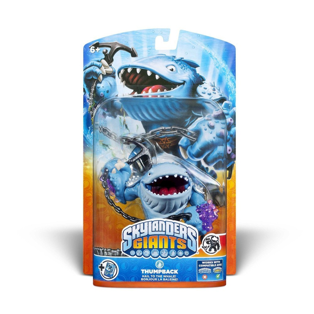 Skylander Giants Character Pack - Thumpback, Multi-Colored Thumpback Color: Multi-Colored.
