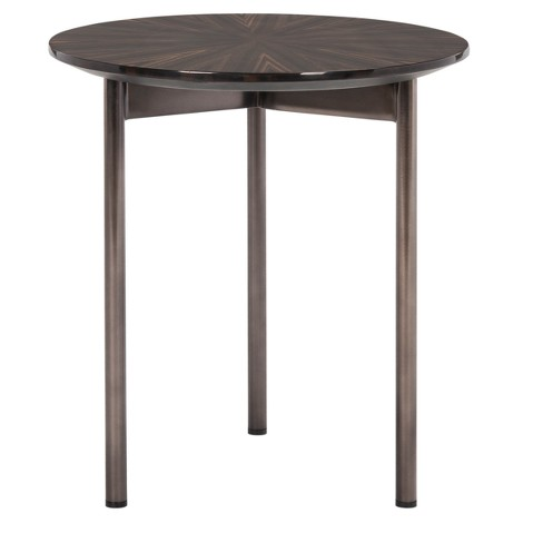 End Table Espresso Brown - Safavieh - image 1 of 4