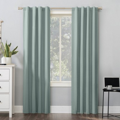 Cyrus Thermal Total Blackout Back Tab Curtain Panel - Sun Zero