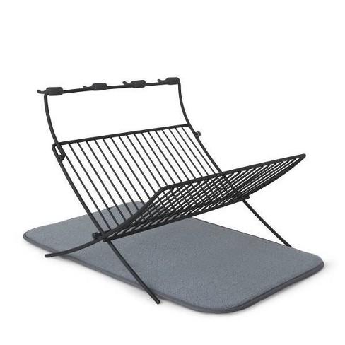 Steel Xdry Dish Drying Rack Gray - Umbra - image 1 of 4