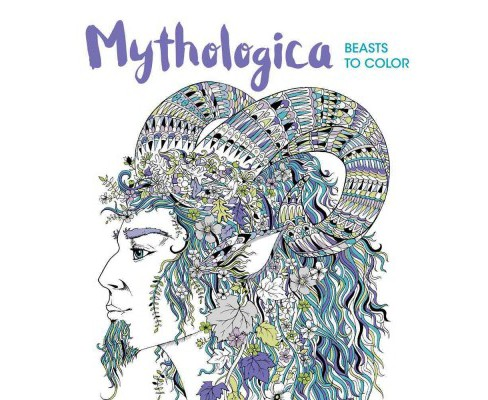 Mythologica : Beasts to Color (Paperback) - image 1 of 1