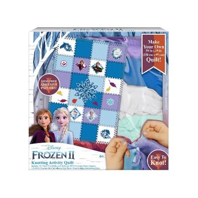 Disney Frozen 2 Knotting Quilt Activity