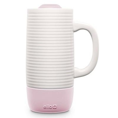 Ello 14oz Jada Ceramic Coffee Mug Pink