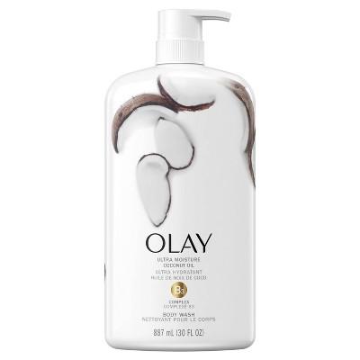 Olay Ultra Moisture Body Wash with Coconut Oil - 30 fl oz
