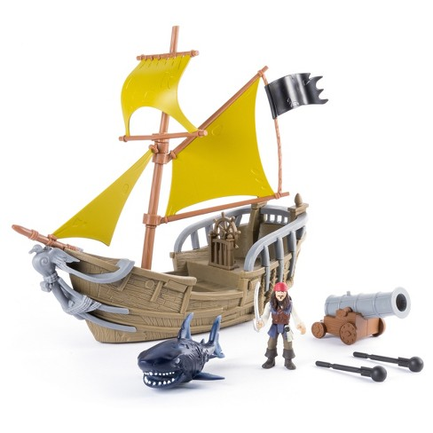 Disney Pirates of the Caribbean - Dead Men Tell No Tales - Jack's Pirate Ship Playset - image 1 of 7