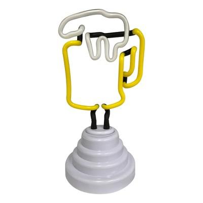 """9"""" Beer Mug Led Light White   Creative Motion Industries by Creative Motion Industries"""