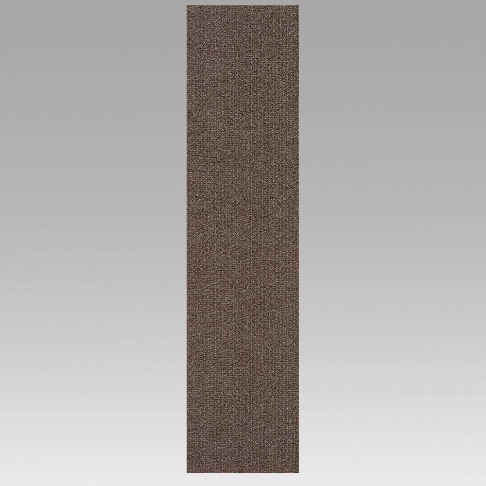9x36 16pk Self Stick Carpet Tile Espresso - Foss Floors Cheap