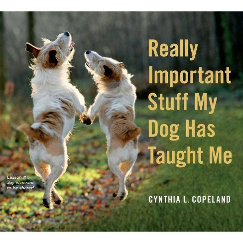 Really Important Stuff My Dog Has Taught Me (Paperback) (Cynthia L. Copeland) - image 1 of 1