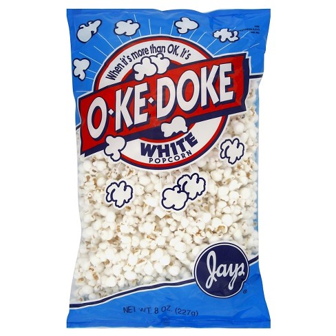 O-Ke-Doke White Popcorn - 8oz - image 1 of 1