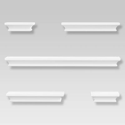 5pc Traditional Shelf Set White - Threshold™