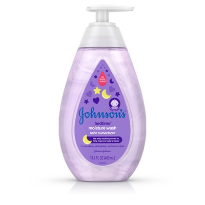 Johnson's Bedtime Moisture Wash - 13.6oz