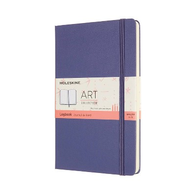 Moleskine Blank Journal Log Book Lavender