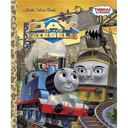 Day of the Diesels - (Little Golden Book) by  W Awdry (Hardcover) - image 1 of 1