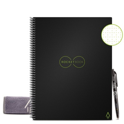 """Core Smart Spiral Reusable Notebook Dot-Grid 32 pages 8.5""""x11"""" Letter Size Eco-friendly - Rocketbook"""