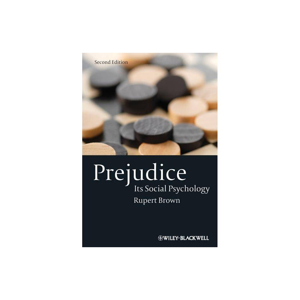Prejudice 2nd Edition By Rupert Brown Paperback
