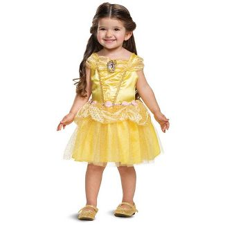 Toddler Disney Princess Belle Halloween Costume Dress 3T-4T