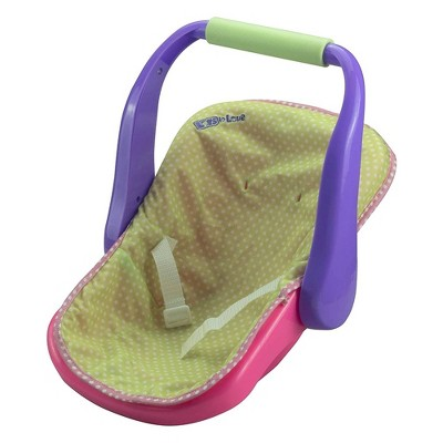 """JC Toys For Keeps! 16"""" Adjustable Doll Carrier - Pink"""