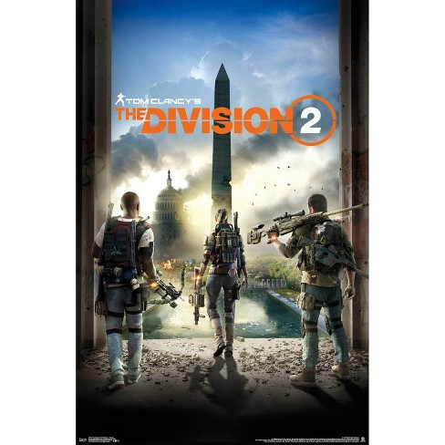 "34""x23"" Tom Clancy's The Division 2 Key Art Unframed Wall Poster Print - Trends International - image 1 of 2"