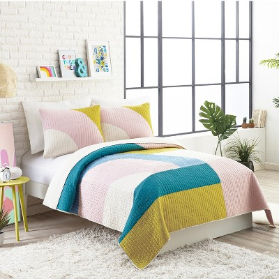3pc Full/Queen Modshapes Quilt Set - AmPersanD Design Studio for Makers Collective